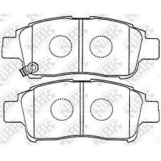 NIBK pn1471 (0446513020 / 044650W050 / 0446513050) колодки тормозные дисковые (передние) to echo usa ncp12r 00-05 platz scp11 / ncp12 / 16 99-05 probox / s