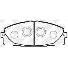 NIBK PN1516 (0446526420 / 0446526421 / V9118A102) колодки дисковые п.\ Toyota (Тойота) hi-ace 04>