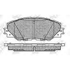 NIBK PN1530 (0446542150 / 0446542140 / 0446542190) колодки дисковые п.\ Toyota (Тойота) rav4 2.0vvt-i / 2.2d-4d 06>