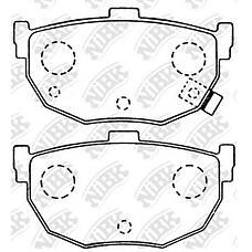 NIBK pn2130 (583022DA10 / 5830229A00 / 5830229A10) колодки тормозные дисковые (задние) hy avante 95-03 coupe / rd 96-04 tiburon / tuscani 96-07 elantra
