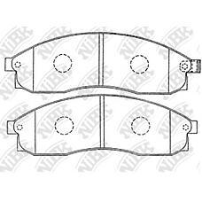 NIBK PN2309 (MR527550 / AY040NS097 / AY040NS049) колодки тормозные дисковые