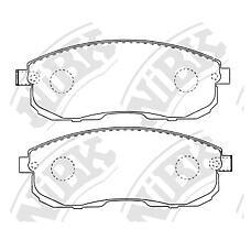 NIBK pn2474 (4106040U90 / D1060EM10A / 4106089E90) колодки тормозные дисковые (передние) ni tino 1.8l pv10 / v10 98-03 2.0l hv10 98-01 teana 2.5l j32 / t