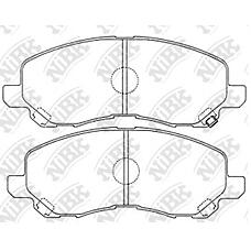 NIBK PN3469 (MR527675 / MR569403 / MN102618) колодки дисковые п.\ Mitsubishi (Мицубиси) Space runner (Спейс ранер) 2.0i 16v / 2.4gdi 99>