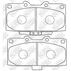 NIBK pn7463 (26296FA102 / 26296FA100 / 26296AE120) колодки тормозные дисковые (передние) ni fairlady z z32 89-00 silvia s15 99-02 skyline _r32 89-9