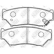 NIBK PN9301 (5520056831 / 5520056870 / 5520065D21) колодки дисковые п.\ Suzuki (Сузуки) Vitara (Витара) 1.6i-1.9td <98 / grandv 2.0 / 2.0td <01