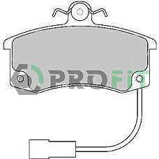 PROFIT 5000-1325 (21103501080) колодки тормозные к-т Lada (Лада) (2110, 2111, 2112) (с датчиком) front
