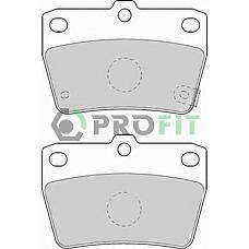 PROFIT 5000-1531 (0446642020 / 0446642030 / GDB3279) колодки тормозные задние Toyota (Тойота) rav IV 01-
