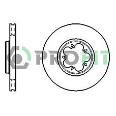 PROFIT 5010-1113 (4041427 / 562141J) диск тормозной Ford (Форд) Transit (Транзит) 00-06 front