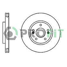 PROFIT 5010-1292 (5171226100) диск тормозной Hyundai (Хендай) Santa fe (Санта фе) 01- front
