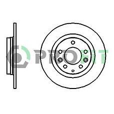 PROFIT 5010-1500 (GF3Y26251A / GFYY26251 / GF3Y26251) диск тормозной задний Mazda (Мазда) 6 07> mx-5 08> Mazda (Мазда) 323 01>04 Mazda (Мазда) 626 99>02