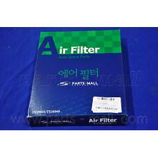 PARTS-MALL PAA-023 (2811323001 / 2811323100 / PC1124) фильтр воздушный\ Hyundai (Хендай) lantra / Elantra (Элантра) 1.6-2.0 / 1.9d & 16v 95>