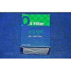 PARTS-MALL PBW-106 (1520853J00 / 1520870J00 / 1520853J01) фильтр масляный\ Nissan (Ниссан) Primera (Примера) / Sunny (Санни) 2.0i / gti 90> / Micra (Микра) 1.0-1.4 16v 92>