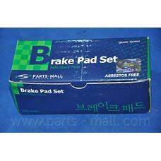 PARTS-MALL PKA-002 (5810128A00 / 5810133C00 / 5810129A10) колодки тормозные дисковые