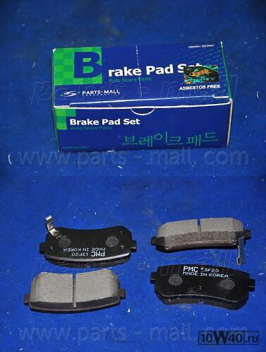 PKA033PMC колодки дисковые задние  KIA Ceed/Rio/Sportage, Hyundai Accent/i20/i30/ix35