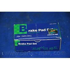 PARTS-MALL PKA033 (583021GA00 / 583021HA10 / 583021JA30) pka033pmc колодки дисковые задние Kia (Киа) ceed / Rio (Рио) / sportage, Hyundai (Хендай) Accent (Акцент) / i20 / i30 / ix35