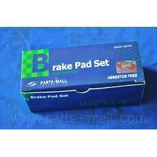 PARTS-MALL PKA-035 (581012BA10 / 581012PA70 / 581014DU00) колодки тормозные дисковые