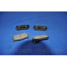 PARTS-MALL PKB-008 (0K9A02628Z / 0K2FC2628Z / 500028834) колодки тормозные дисковые