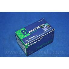 PARTS-MALL PKC-002 (1605881 / 1605870 / 1605746) колодки тормозные дисковые