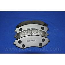 PARTS-MALL PKC-003 (96245178 / 96495227 / 96253367) колодки тормозные дисковые
