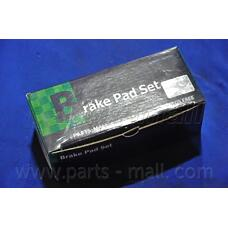 PARTS-MALL PKC-008 (96245178 / 96495227 / 96253367) колодки тормозные дисковые