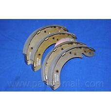 PARTS-MALL PLA-003 (7701202897 / 7701203072 / 5830544A10) pla003pmc_колодки барабанные\ Hyundai (Хендай) Sonata (Соната) II / III 88-98 / Trajet (Траджет) 03>pla003pmc_колодки барабанные\ Hyundai (Хендай) Sonata (Соната) II / III 88-98 / Trajet (Траджет)