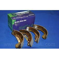 PARTS-MALL PLC-004 (1605953 / S4520005 / NP1464) колодки тормозные барабанные