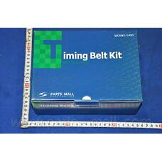 PARTS-MALL PNC-002 (KDBK111RS17 / KDBK686) ремень грм зубчатый с роликами, комплект