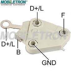 MOBILETRON vr-d674h (1204263 / 1204264 / 1204257) регулятор напряжения opel