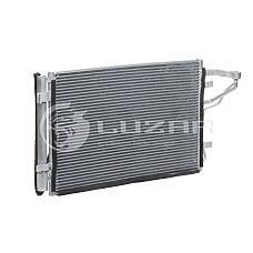 LUZAR LRAC08H2 (976062H000 / LRAC08H2) радиатор кондиционера Kia (Киа) ceed (07-) / Hyundai (Хендай) Elantra (Элантра) hd (06-) lrac08h2