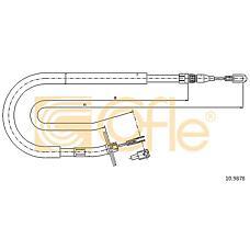 COFLE 10.9878  трос стояночного тормоза mb Sprinter (Спринтер) 95>06 правый