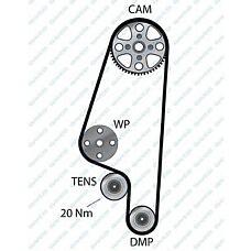 DAYCO 94859 (030109119F / VT293 / 030109119FS1) ремень грм 132stp190