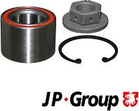 JP GROUP 1551200100 (1551200100_JP) Подшипник ступицы задний / FORD Focus 1.4-1.8 98~
