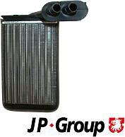JP GROUP 1126301300 (1H2819031A / 358820031 / 192819031) jp819282001 радиатор печки Skoda (Шкода) Octavia (Октавия) 1.4-2.0 98>,VW Golf (Гольф) 2 / 3 / 4 / Passat (Пассат) <97