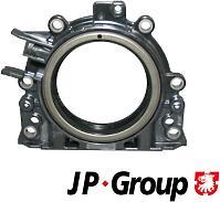 JP GROUP 1119600402 (038103171S / 68000669AA / MN980012) сальник в корпусе коленвала задний 85x132 / 153x15.7\ Audi (Ауди) a3 / a4 1.9 / 2.0tdi 03>