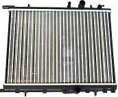 ASAM 32177  радиатор системы охлаждения Peugeot (Пежо) 206