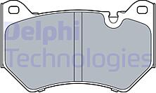 DELPHI LP3511  тормозные колодки передние комплект Audi (Ауди) q5 2.0-3.0d 06.16-