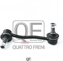 QUATTRO FRENI QF13D00168  стойка стабилизатора fr rh, qf13d00168